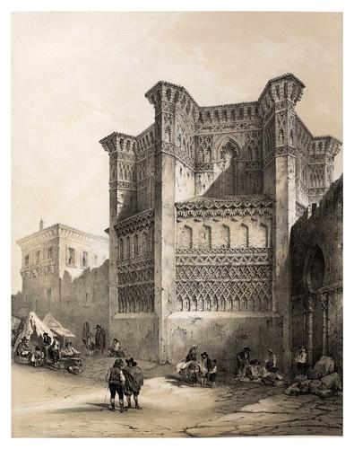 014-Iglesia de los Dominicos en Calatayud-España artística y monumental..Tomo II- 1842-1850-Genaro Perez de Villa-Amil