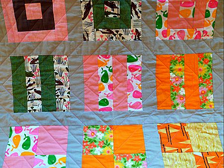 echo diamond quilting