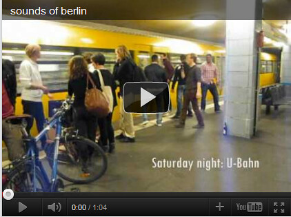 Sounds of Berlin - 1st Place (Video)