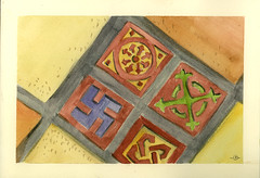 Helen House Porch Tile