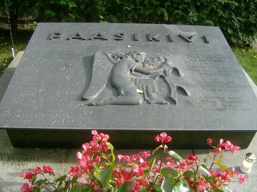La tumba del presidente finlandés Passikivi