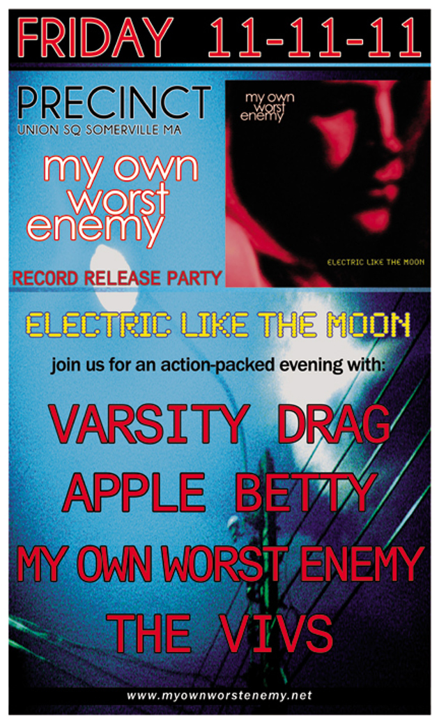 Varsity Drag, My Own Worst Enemy Record Release Show