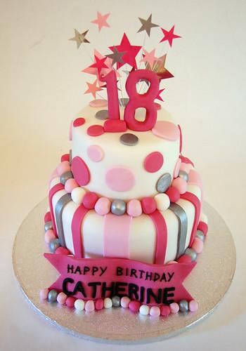Glitzy 18th Cake Beautiful Birthday Cakes