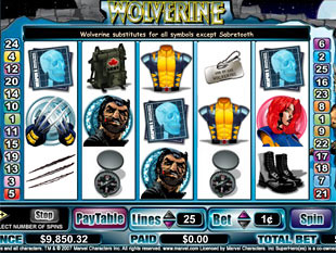 Wolverine slot game online review
