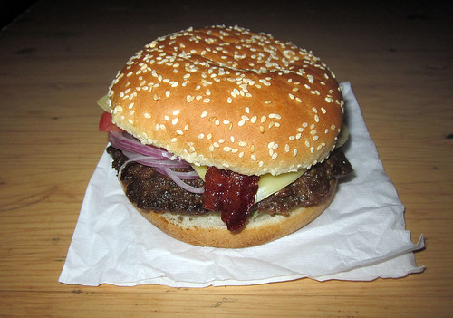 Dinner Cheeseburger