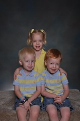 11-kdtgov2 120 (drjeeeol) Tags: pictures school sweet brothers sister katie siblings charlie will multiples daycare fav triplets toddlers schoolpictures 2011 36monthsold