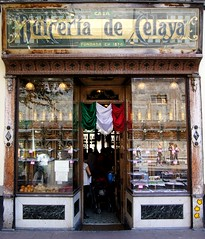Dulceria de Celaya (hmerinomx) Tags: street door wood old city people window sign shop de mexico ventana calle store puerta madera df candy gente antique front tienda celaya marble letrero fachada federal marmol founded distrito 1874 dulceria antigedad fundada