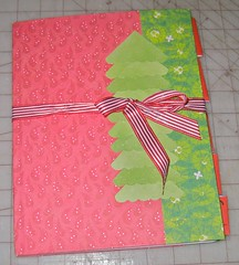 Christmas Planner with Ribbon closure