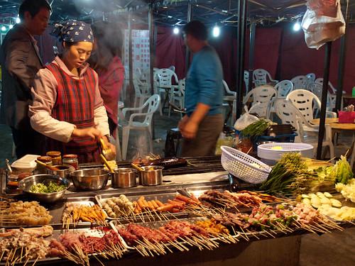 Xijiang - Mercado nocturno