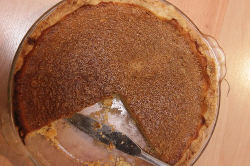 browned butter- buttermilk pie