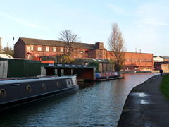It can't be a pot bank, it looks too new! (stokeyouth1) Tags: autumn urban industry modern canal panasonic wharf stokeontrent pottery staffordshire narrowboat longport potteries trentandmersey fivetowns chandlery potbank turnhill steeliteinternational dmctz5 sixtowns stokeyouth1