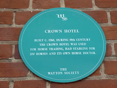 Photo of Green plaque number 6960