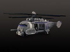 Gears of War - King Raven (Legohaulic) Tags: lego helicopter videogame commission gearsofwar kingraven