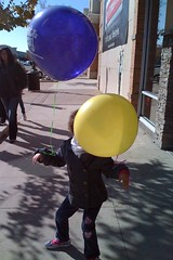 Pop And Lock With Two Balloons