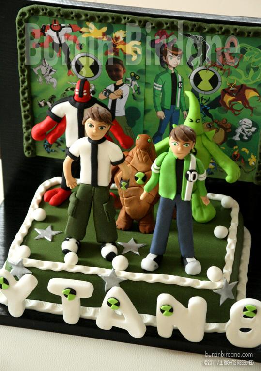Ben 10 Cake 1