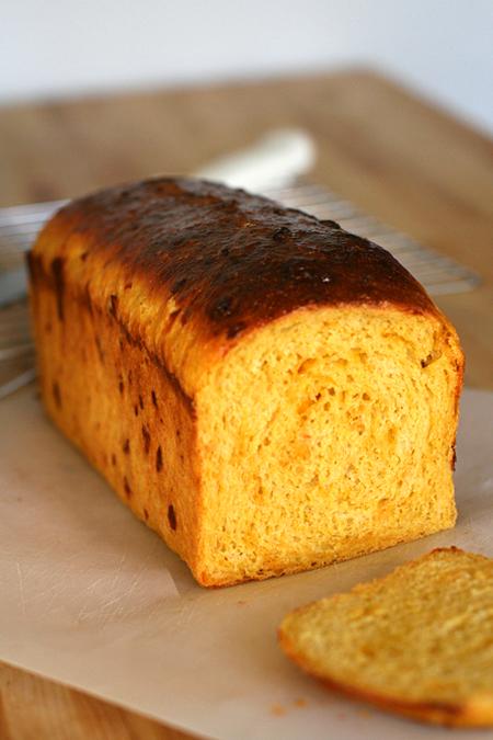 Pumpkin Cheddar Loaf