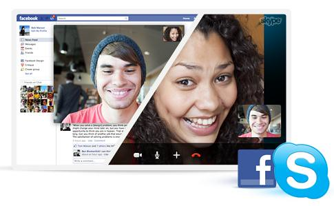 Skype Facebook to Facebook calling