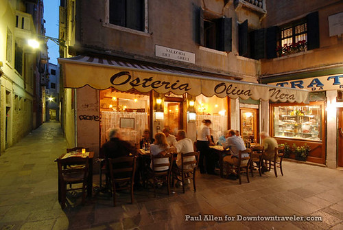 The Osteria Oliva Nora is a charming restaurant in Venice