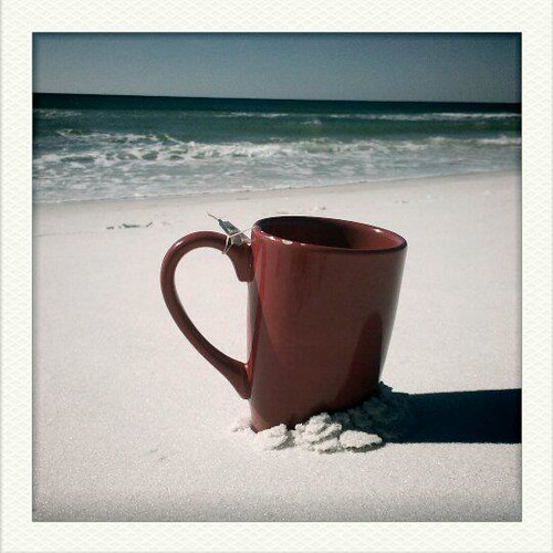 Hot tea, cool mornings and bliss