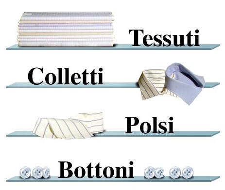 Produzione di Camicie su misura Acquistabili online - Bellicoso, Atelier