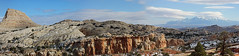 Capitol Pano 11-12-11 (NateGeesaman) Tags: panorama snow cold clouds sandstone stitch hiking cliffs redrock juniper capitolreefnationalpark lenticularclouds lenticularis henrymountains nothdr