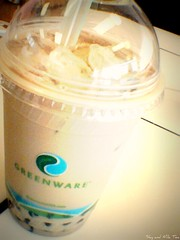 Pearl Milk Tea (sky and milktea) Tags: life afternoon milktea bobatea pearlmilktea tapioka honeyberry