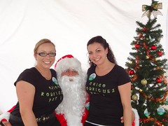 "Santa with Commissioner Rodriguez staff, Veronica Gonzalez-Vasquez and Mari Garcia • <a style=""font-size:0.8em;"" href=""http://www.flickr.com/photos/65105168@N06/6377190627/"" target=""_blank"">View on Flickr</a>"