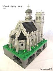 CCCIX - Church of Saint Judas (vdubguy67') Tags: tree tower castle classic church saint king lego fort battle medieval queen creation monks knight trade siege outpost moc afol cccix
