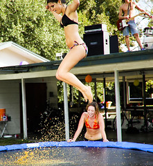 Flakes (Bawfo Exclamationpoint) Tags: cornflakes bikinis beachballs trampolines