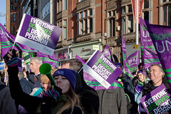 #N30 Nottingham (PeteZab (back soon)) Tags: nottingham uk greatbritain england demo march politics rally protest demonstration unite strike n30 pension tuc unison canoneos50d petezab dampsquib peterzabulis sigma1770f284dcmacroos