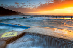Coalcliff Pool (stevoarnold) Tags: ocean sea seascape sunrise sydney australia nsw southcoast illawarra coalcliff