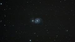 M51 26/3/12 (.Tzetze.) Tags: galaxy astrophotography astronomy m51 450d Astrometrydotnet:status=solved Astrometrydotnet:version=14400 cg5gt Astrometrydotnet:id=alpha20130290804665