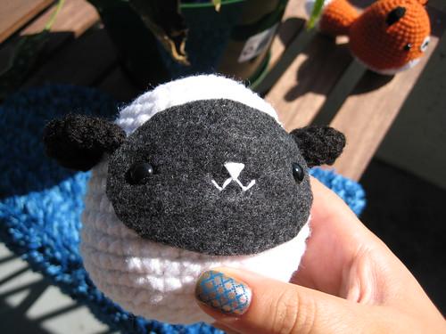 Bodo, crochet red panda pattern | Son's Popkes | 375x500