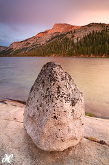 Dragon Egg - Tenaya Lake, Yosemite National Park (Joshua Cripps) Tags: pink sunset orange colors nationalpark rocks glow purple yosemite granite thunderstorm cracks tenayalake tenayapeak tokina1224mm manfrottotripod nikond7000 acratechballhead
