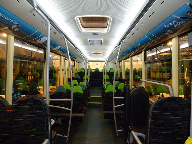 interior view of Optare Tampon SR for Trent Barton