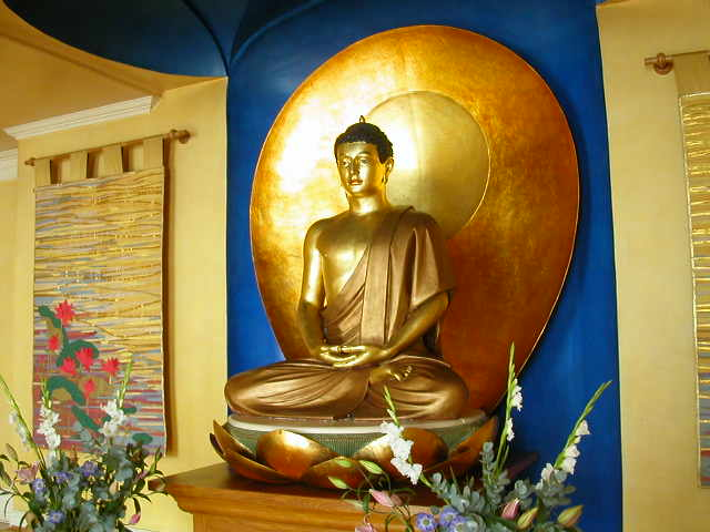 London Buddhist Centre shrine