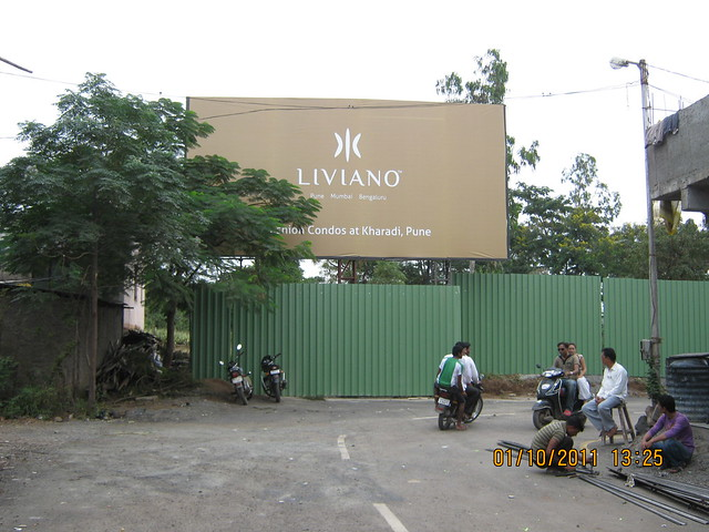 Site office of Liviano Kharadi Pune is on 700 meters from this point!