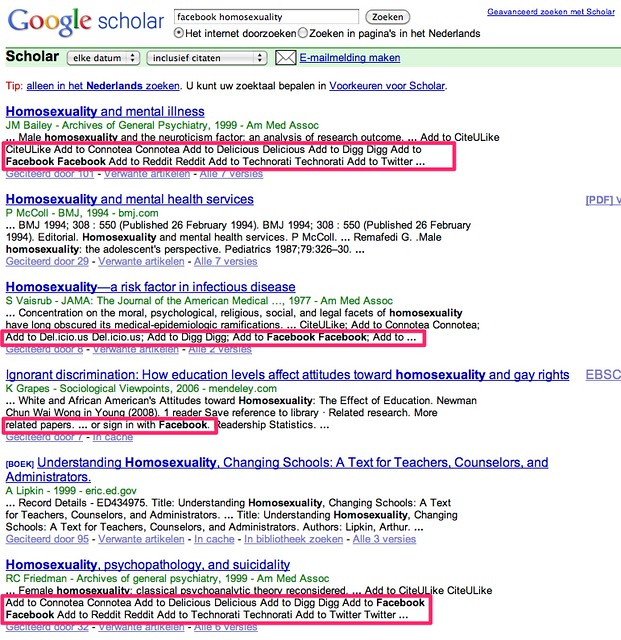 facebook homosexuality - Google Scholar