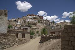 Ladakh July 2011 (katherine.neumann) Tags: india mountain building architecture asia buddhist monk buddhism tibet monastery tibetan himalayas ladakh thiksey