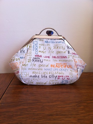 Another Fortune Cookie frame purse