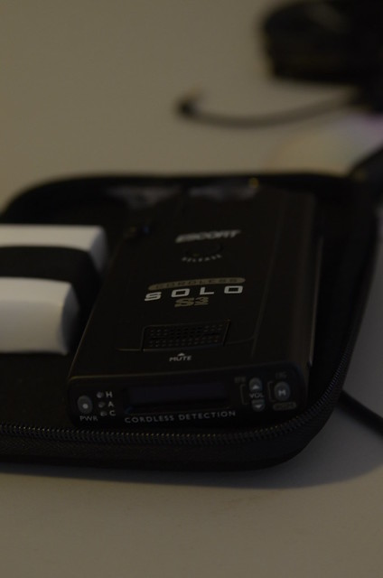 escort solo s3 cordless radar detector manual