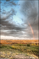 From Heaven to Earth... (Keith Chastain) Tags: sunrise rainbow merced hdr hdrphotography lapalomaroad keithchastain