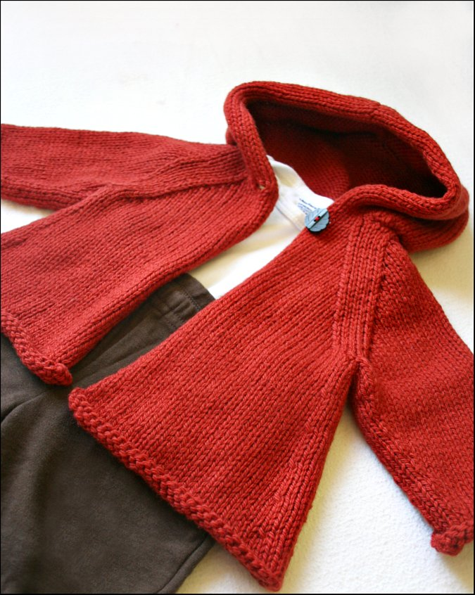 Never Not Knitting: Hooded Jacket
