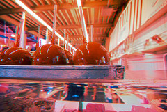 Anaglyph Candy Apples (fredtruck) Tags: glasses 3d statefair fair anaglyph hdr redcyan nikond90 tokinaaf1224mmf4 3dconversion adobephotoshopcs5 2doriginal