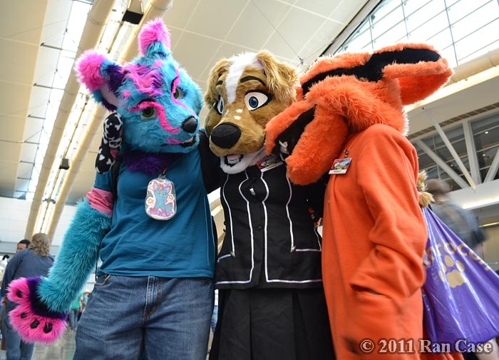 Fast Fur-riends (YES I WENT THERE) @ Anthrocon, Pittsburgh PA @2011 Ran Case