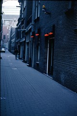 Lone Man In Alley (Joey Z1) Tags: film kodachrome mokum redlightdistrict rld thisisamsterdam maninalley 64asa redlightdistrictamsterdam tumblr lifeinamsterdam oldcityamsterdam dutchlife centralamsterdam metroamsterdam welcometoamsterdam amsterdamalley urbanamsterdam tumblrready readyfortumblr narrowalleyinamsterdam backstreetsofamsterdam