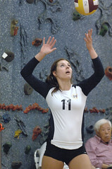 PM20110903-010.jpg (Menlo Photo Bank) Tags: 2011 action athleticcenter court event girl individual match menloschool people photobypamtsomckenney sports student summer upperschool volleyball atherton ca usa us gym