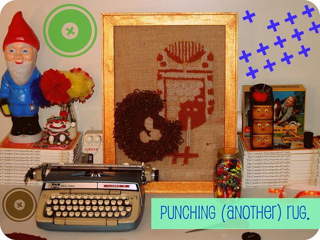 WIP: rug punch.