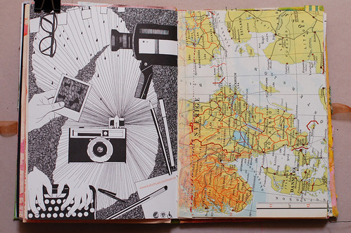 Journal of Scraps I: camera in the world