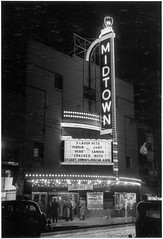 Midtown Theatre at night